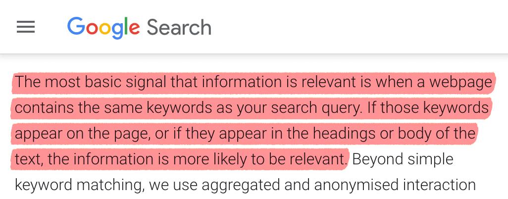 Hur sökningar på Google fungerar